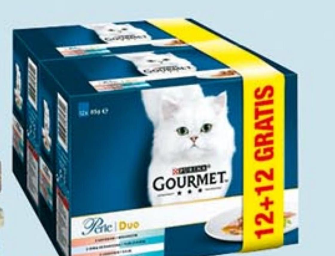 Mokra karma dla kotów Gourmet Perle niska cena