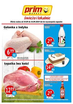 Gazetka promocyjna Prim Market, ważna od 19.09.2019 do 25.09.2019.
