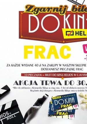 Gazetka promocyjna FRAC, ważna od 18.09.2019 do 30.11.2019.