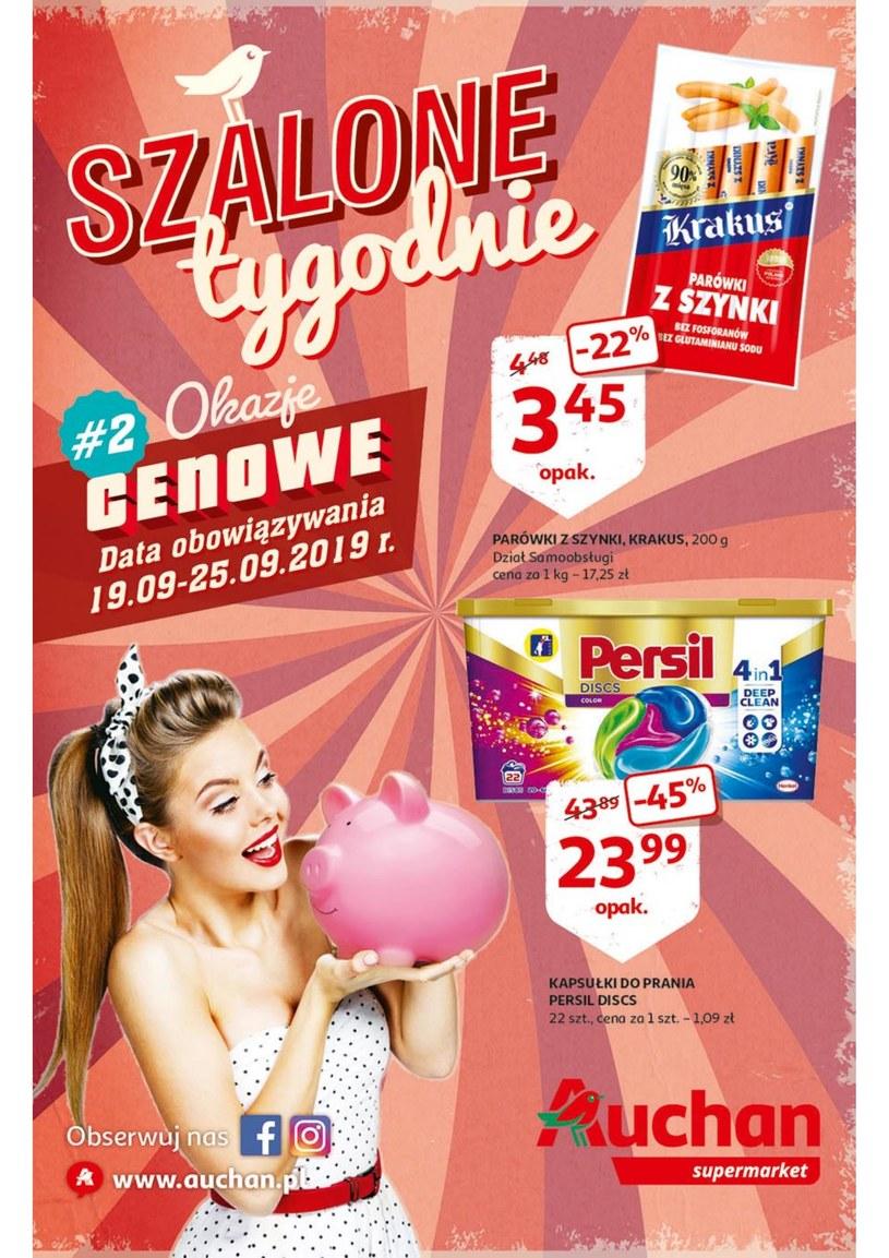 Auchan Supermarket: 1 gazetka