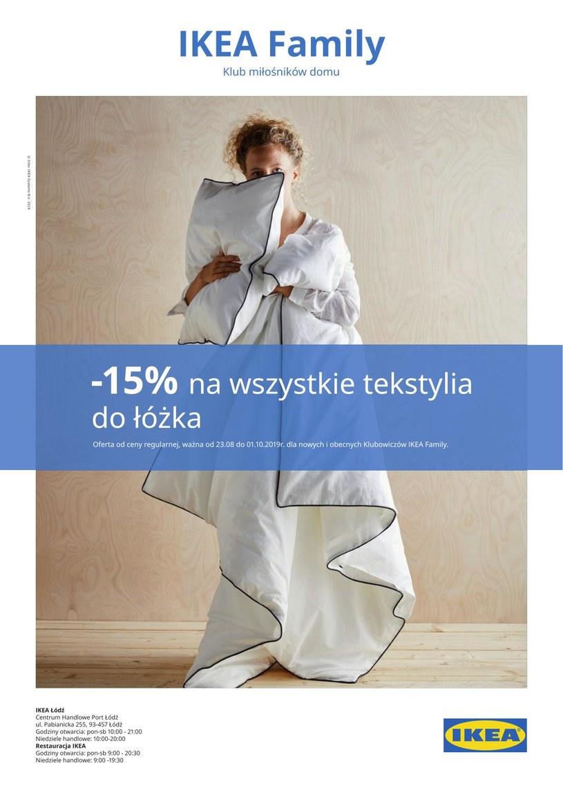 Gazetka promocyjna IKEA - ważna od 23. 08. 2019 do 01. 10. 2019