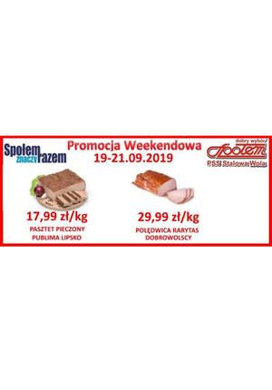 Gazetka promocyjna PSS Stalowa Wola, ważna od 19.09.2019 do 21.09.2019.