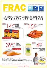 Gazetka promocyjna FRAC - Gazetka promocyjna - ważna do 29-09-2019