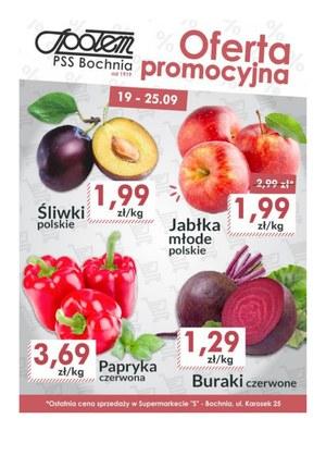 Gazetka promocyjna PSS Bochnia, ważna od 19.09.2019 do 25.09.2019.