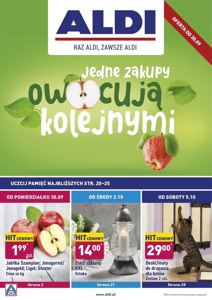 Gazetka promocyjna Aldi - ważna od 30. 09. 2019 do 05. 10. 2019