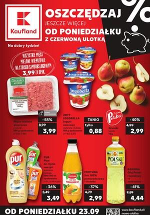 Gazetka promocyjna Kaufland, ważna od 23.09.2019 do 25.09.2019.