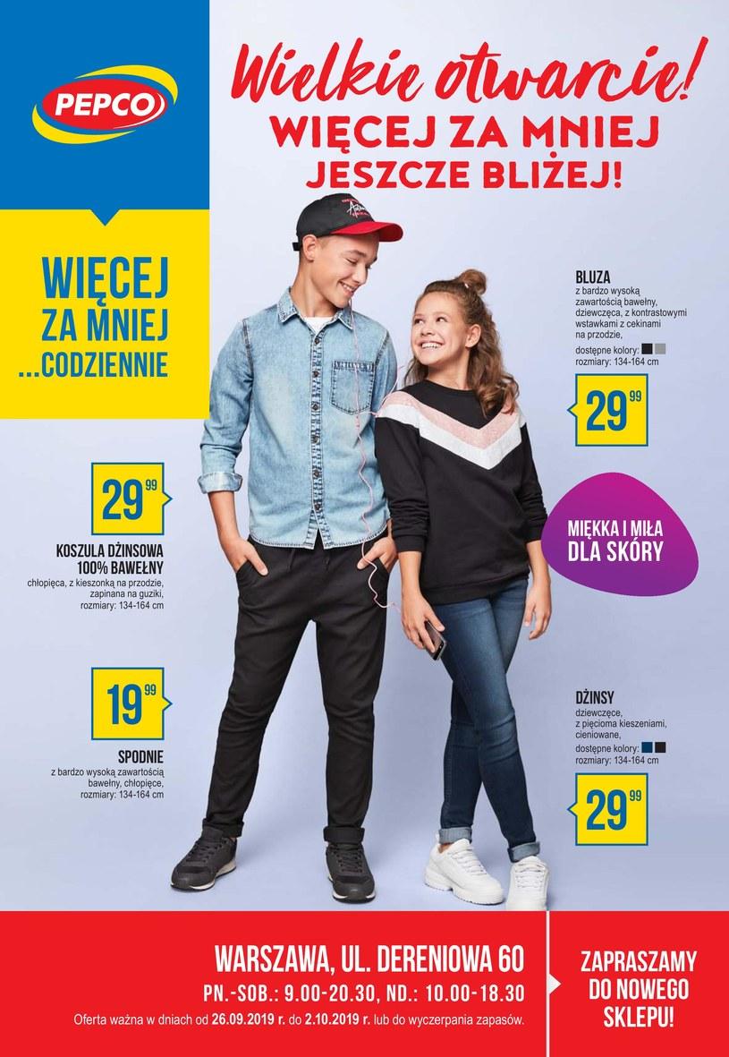 Gazetka promocyjna Pepco - ważna od 26. 09. 2019 do 02. 10. 2019