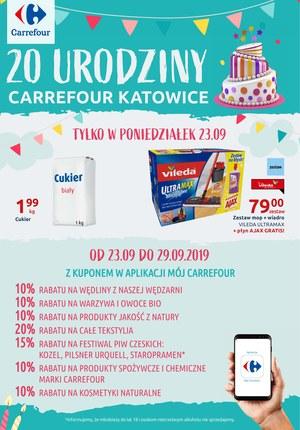 Gazetka promocyjna Carrefour, ważna od 23.09.2019 do 29.09.2019.