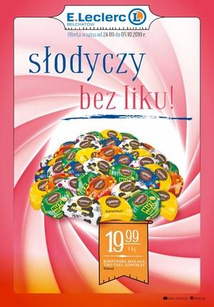Gazetka promocyjna E.Leclerc, ważna od 24.09.2019 do 05.10.2019.