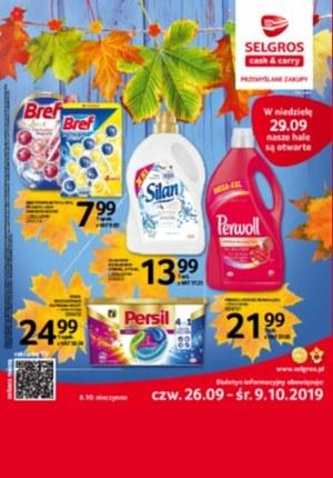 Gazetka promocyjna Selgros Cash&Carry, ważna od 26.09.2019 do 09.10.2019.