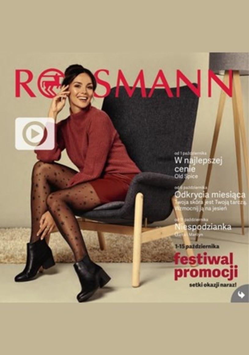 Gazetka promocyjna Rossmann - ważna od 01. 10. 2019 do 15. 10. 2019