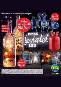 Gazetka promocyjna TEDi - Błysk świateł LED - ważna do 25-12-2019