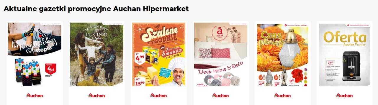 Auchan Gazetki promocyjne