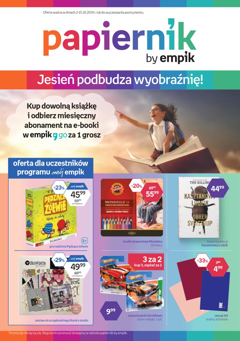 Gazetka promocyjna Papiernik by Empik - wygasła 3 dni temu