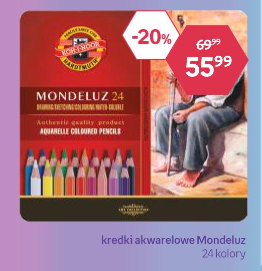 Kredki akwarelowe Mondeluz niska cena