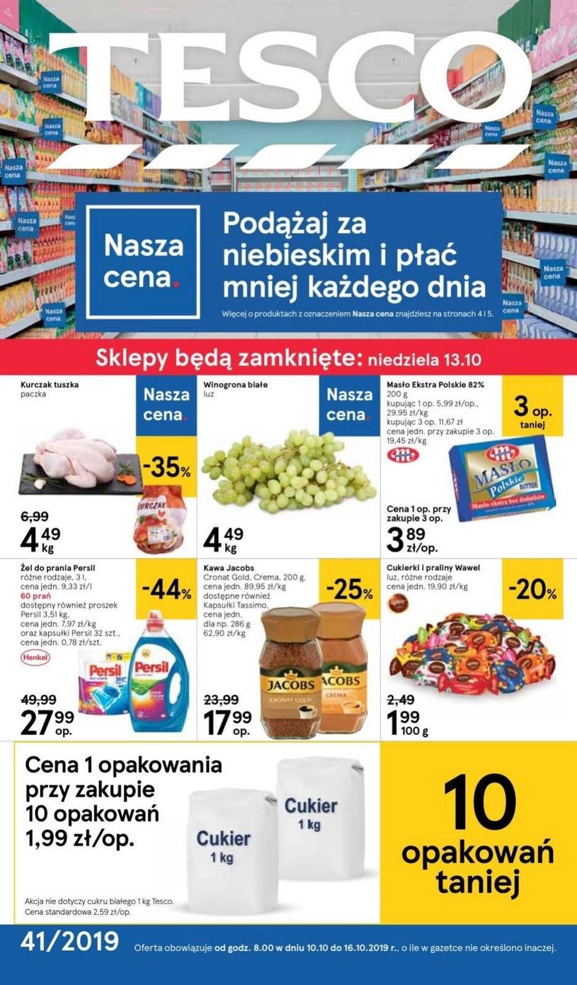 Gazetka promocyjna Tesco Centra Handlowe - ważna od 10. 10. 2019 do 16. 10. 2019