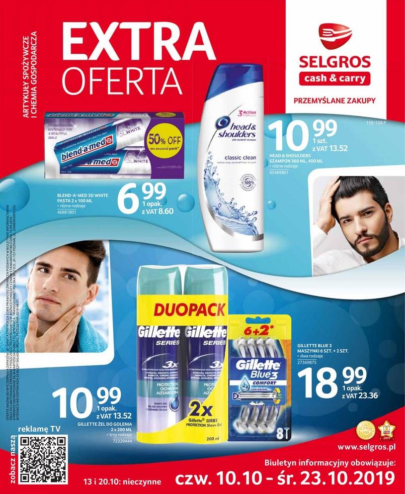 Gazetka promocyjna Selgros Cash&Carry - ważna od 10. 10. 2019 do 23. 10. 2019