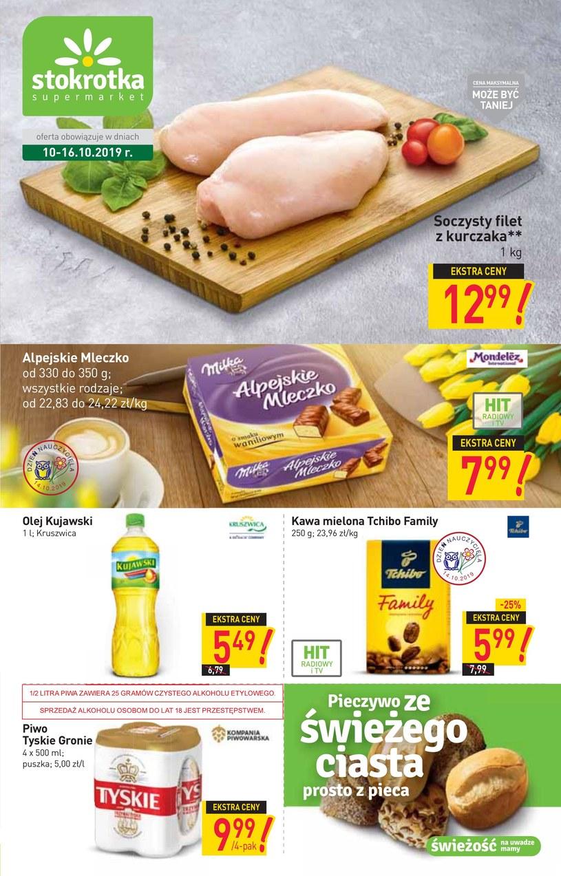 Gazetka promocyjna Stokrotka Supermarket - ważna od 10. 10. 2019 do 16. 10. 2019