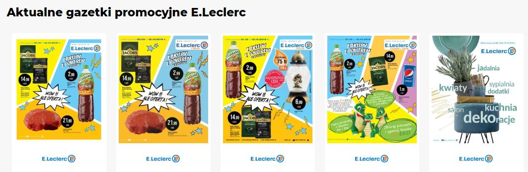Gazetka E.Leclerc