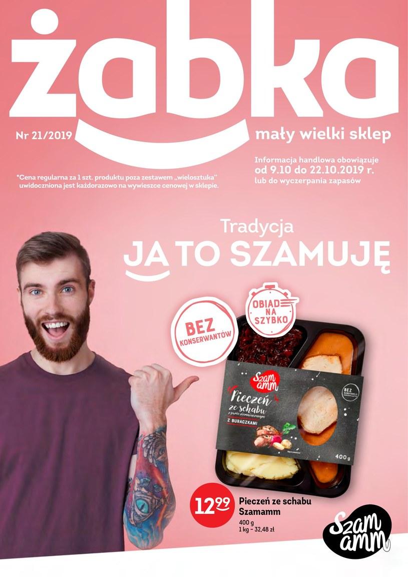 Gazetka promocyjna Żabka - ważna od 09. 10. 2019 do 22. 10. 2019
