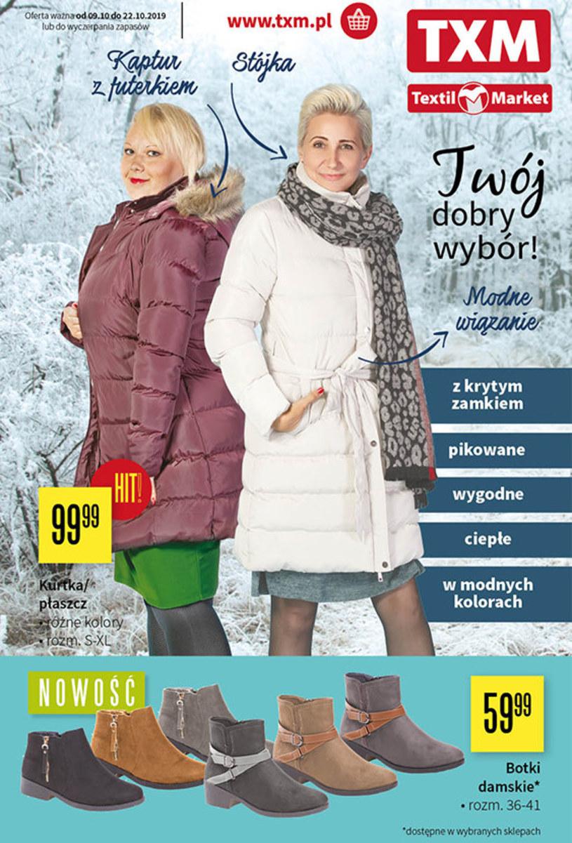 Gazetka promocyjna Textil Market - ważna od 09. 10. 2019 do 22. 10. 2019