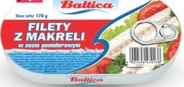 Filet z makreli Baltica  niska cena