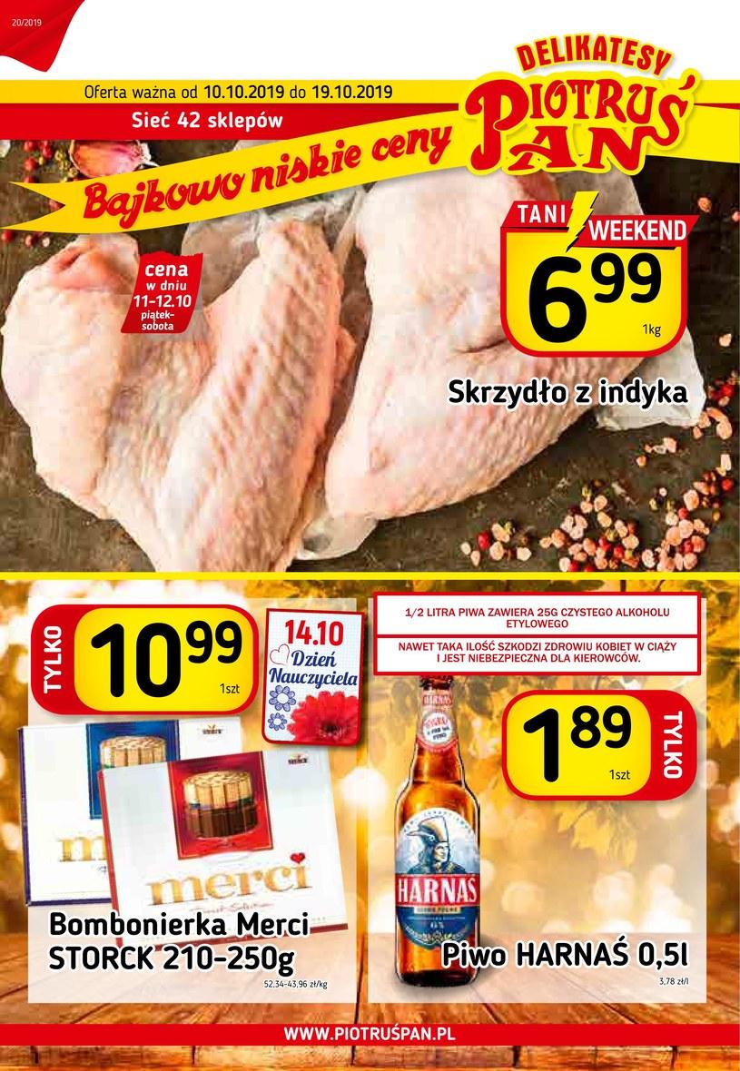 Gazetka promocyjna Piotruś Pan - ważna od 10. 10. 2019 do 19. 10. 2019