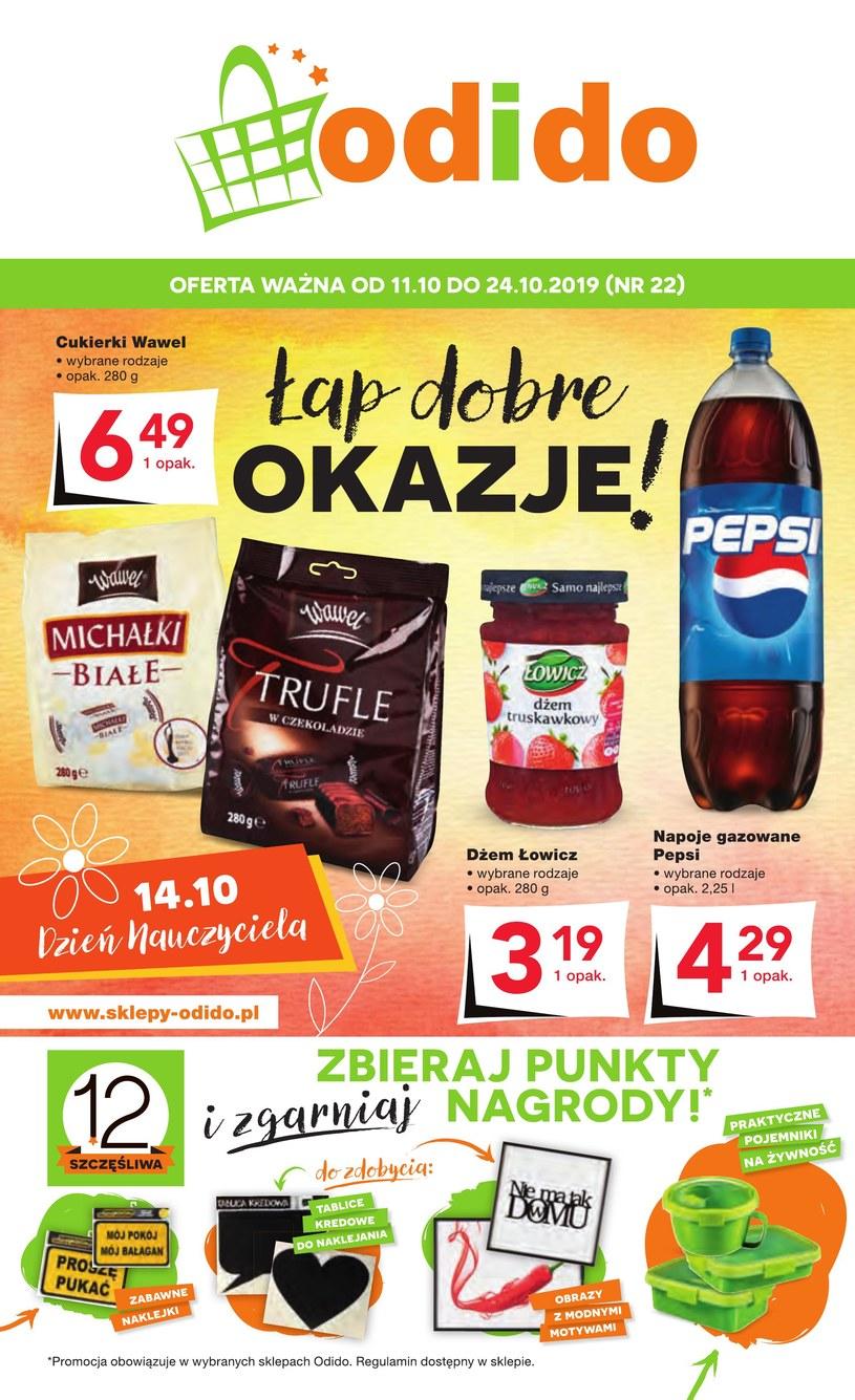 Gazetka promocyjna Odido - ważna od 11. 10. 2019 do 24. 10. 2019