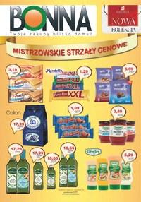 Gazetka promocyjna Bonna - Mistrzowskie strzały cenowe - ważna do 31-10-2019