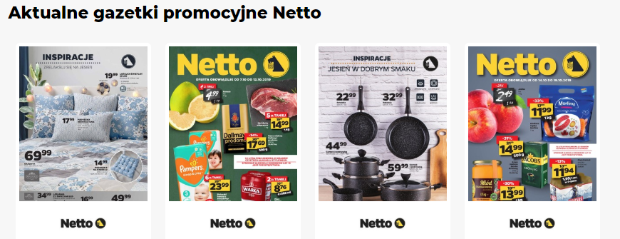 Gazetka Netto