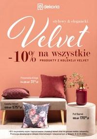 Gazetka promocyjna Dekoria - Velvet - ważna do 21-10-2019