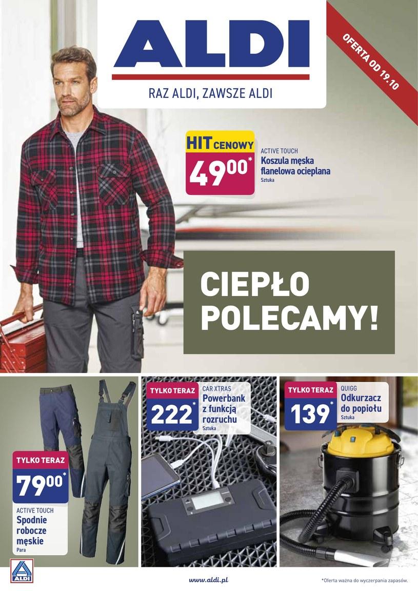 Gazetka promocyjna Aldi - ważna od 17. 10. 2019 do 19. 10. 2019