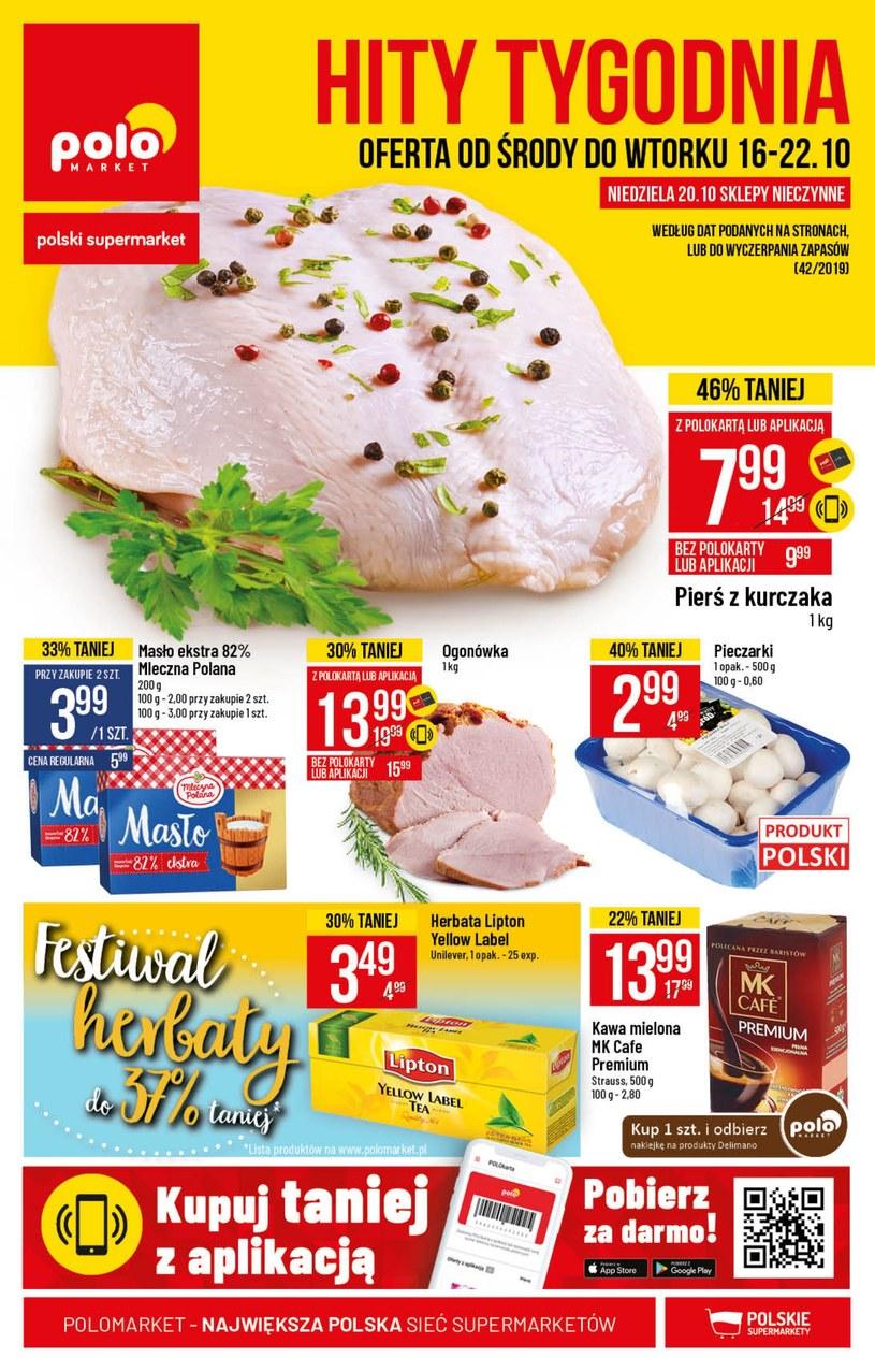 Gazetka promocyjna POLOmarket - ważna od 16. 10. 2019 do 22. 10. 2019