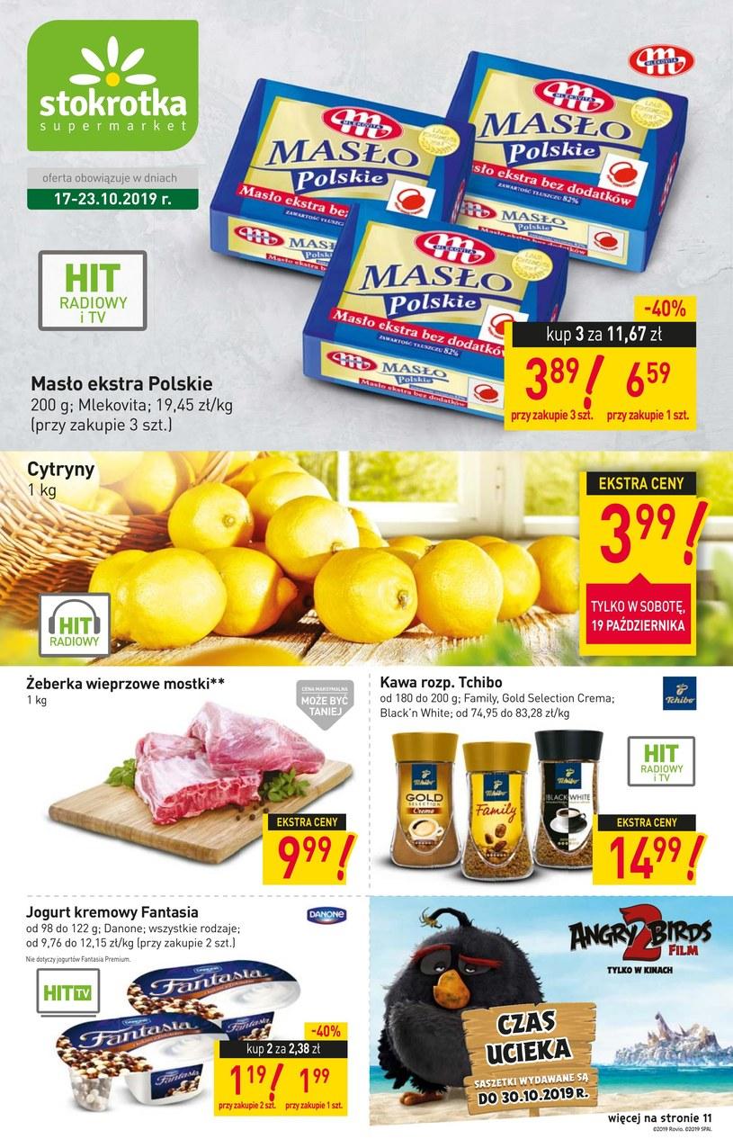 Gazetka promocyjna Stokrotka Supermarket - ważna od 17. 10. 2019 do 23. 10. 2019