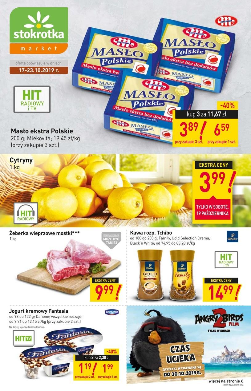 Gazetka promocyjna Stokrotka Market - ważna od 17. 10. 2019 do 23. 10. 2019