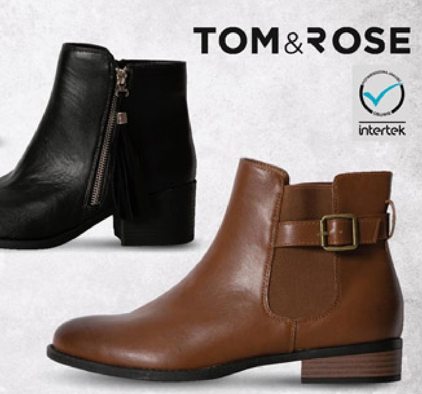 Botki TOM&ROSE  niska cena
