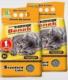 Żwirek dla kota Benek niska cena
