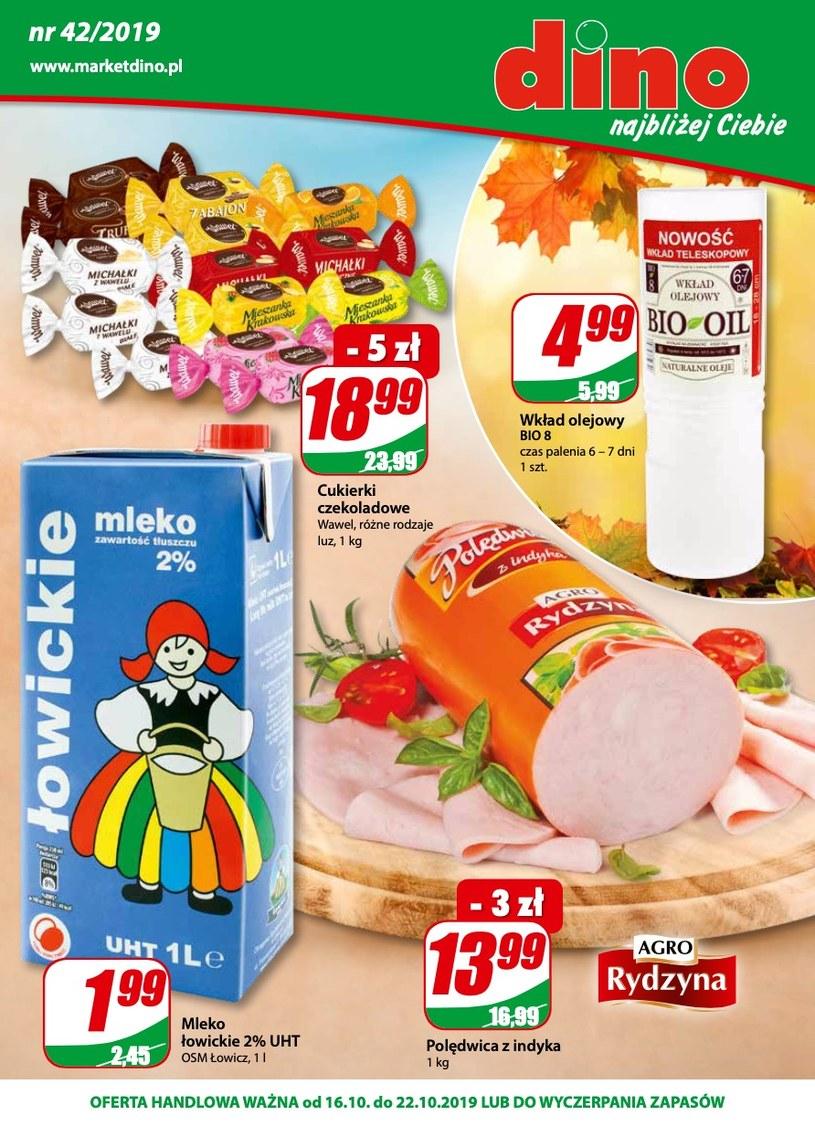 Gazetka promocyjna Dino - ważna od 16. 10. 2019 do 22. 10. 2019