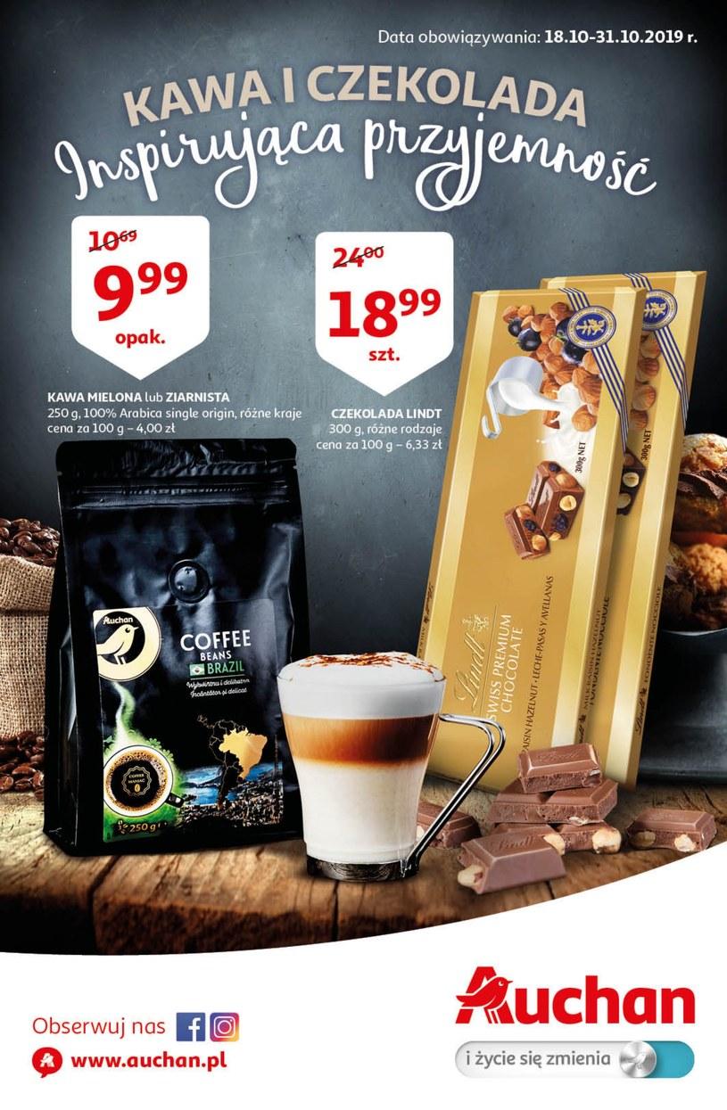Gazetka promocyjna Auchan Hipermarket - ważna od 18. 10. 2019 do 31. 10. 2019