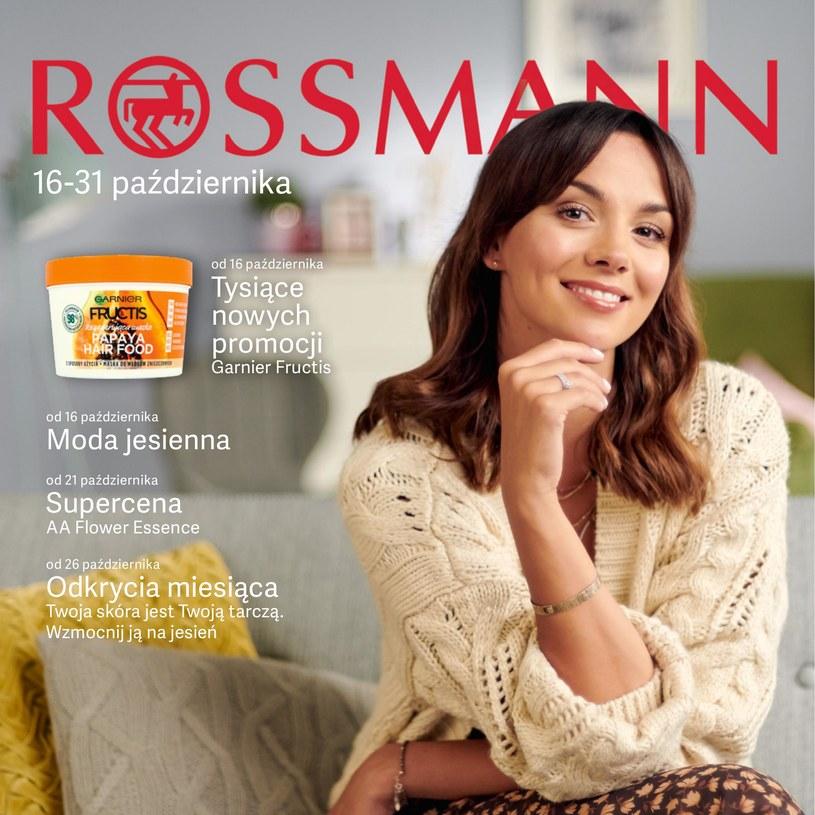 Gazetka promocyjna Rossmann - ważna od 16. 10. 2019 do 31. 10. 2019