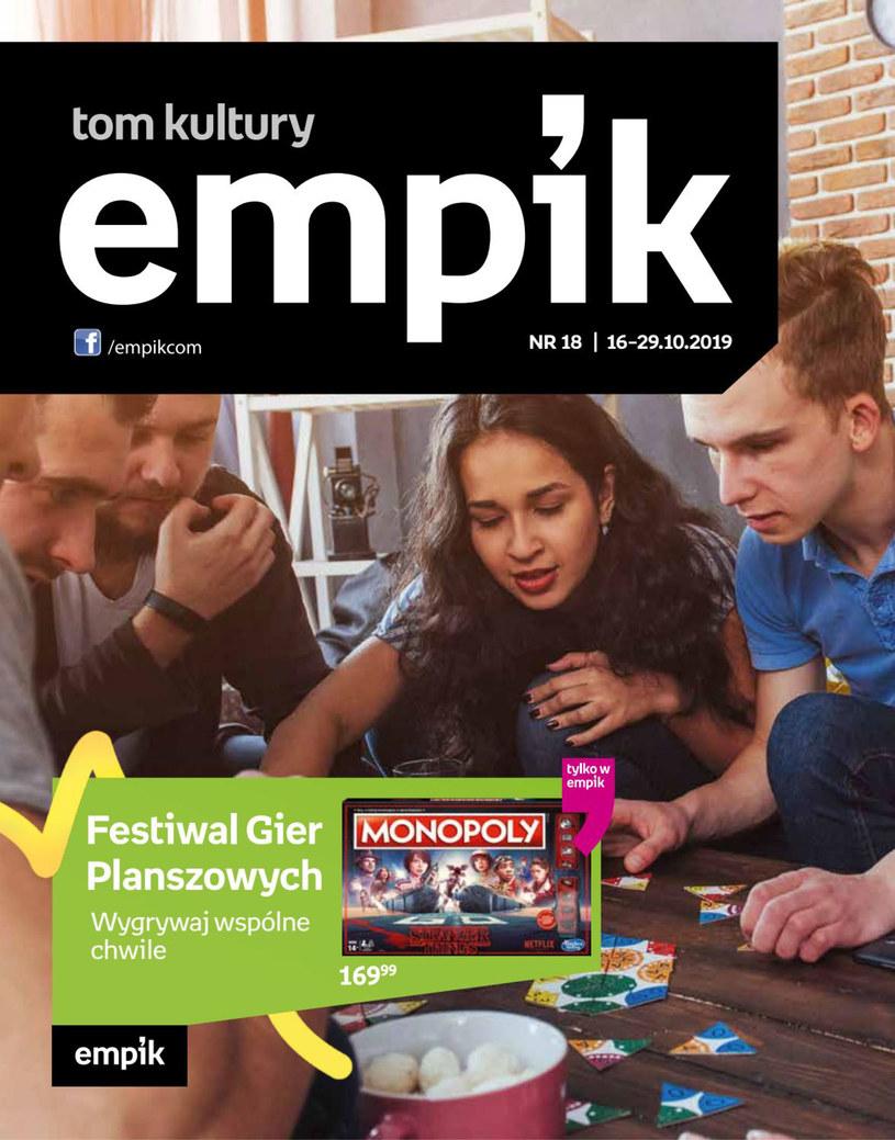 Gazetka promocyjna EMPiK - ważna od 16. 10. 2019 do 29. 10. 2019