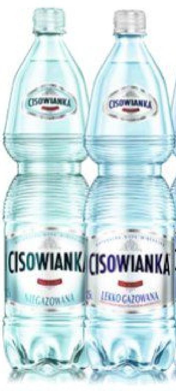 Woda Cisowianka niska cena