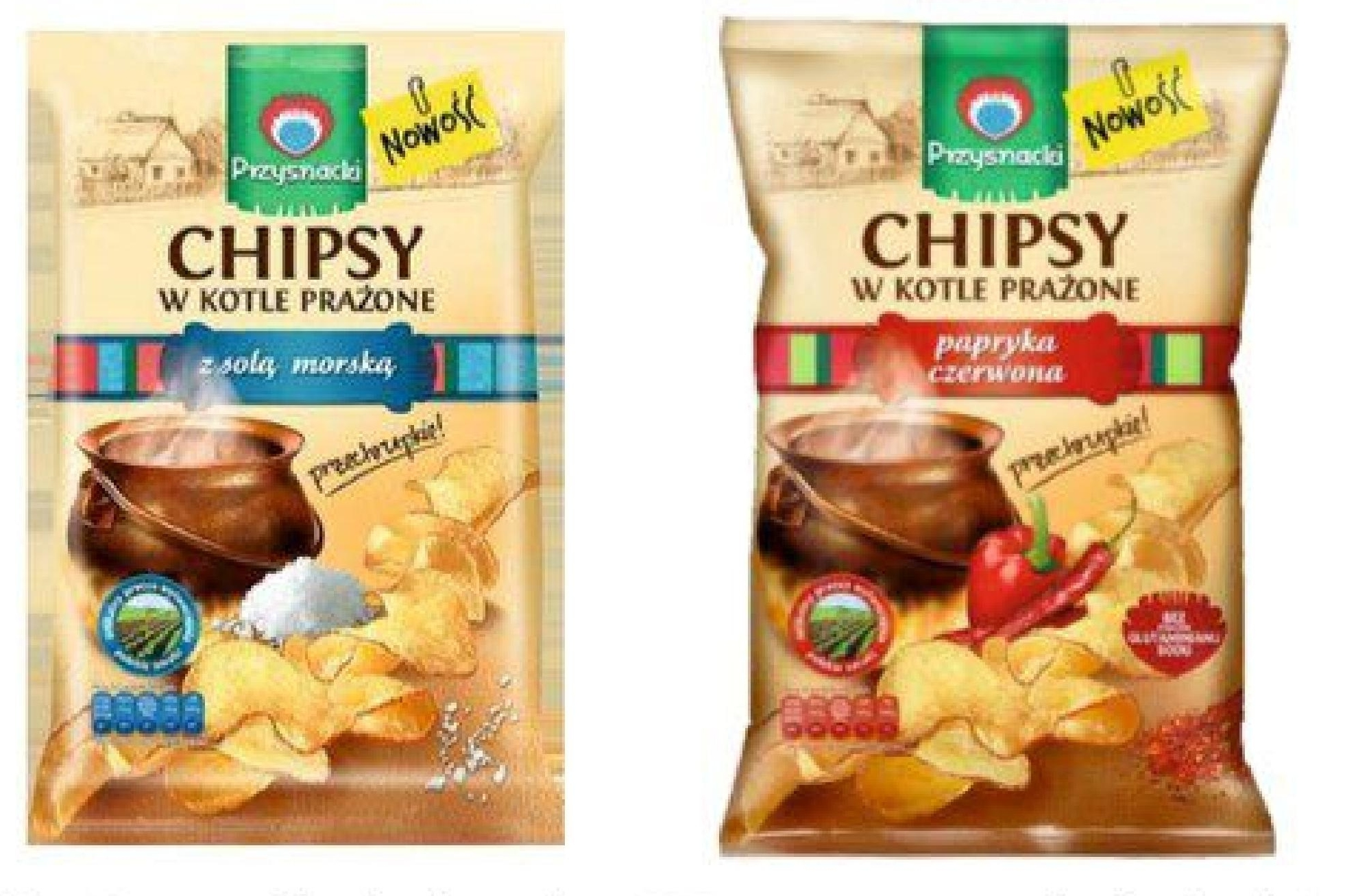 Chipsy Przysnacki niska cena