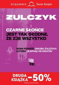 Gazetka promocyjna Księgarnie Świat Książki - Druga książka -50%