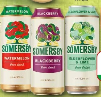 Napój piwny Somersby niska cena
