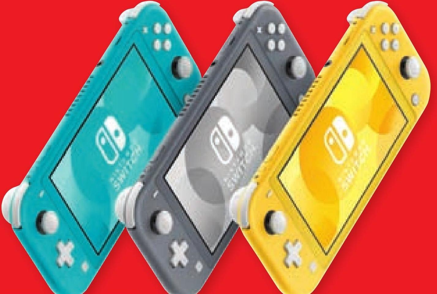Przenośna konsola do gier Nintendo Switch Lite niska cena