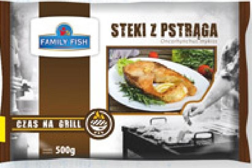 Steki z pstrąga Family Fish niska cena