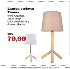 Lampa Tomas  niska cena