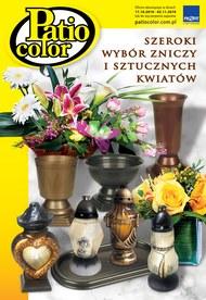 Szeroki wybór zniczy i sztucznych kwiatek
