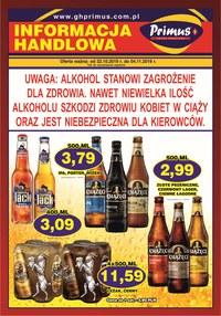 Gazetka promocyjna Primus - Plakat promocyjny - ważna do 04-11-2019